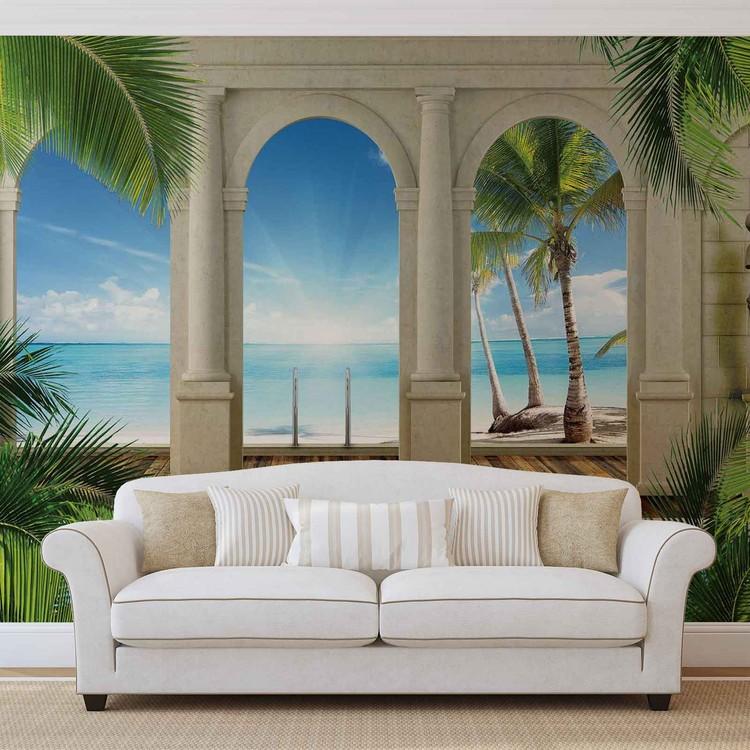 Tropical Beach Valokuvatapetti