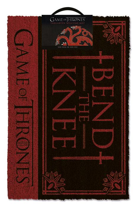 Kynnysmatto Game of Thrones - Bend the knee