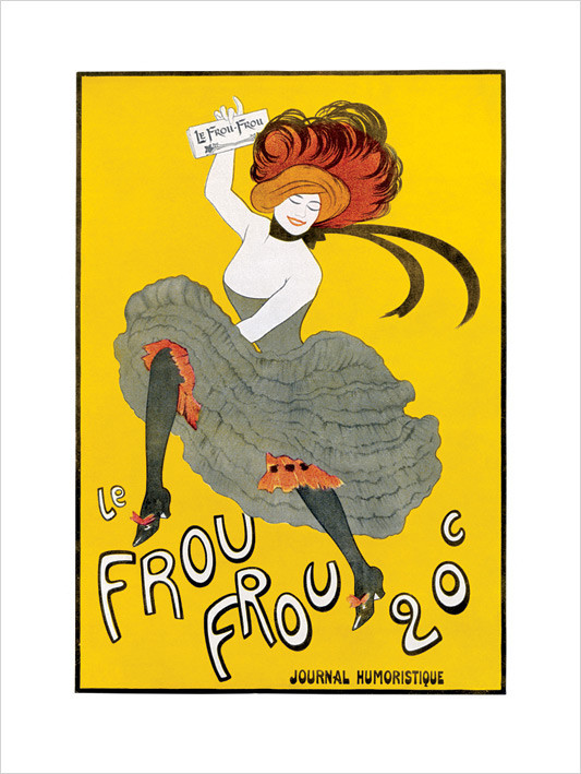 La Frou Frou Reproduction d'art