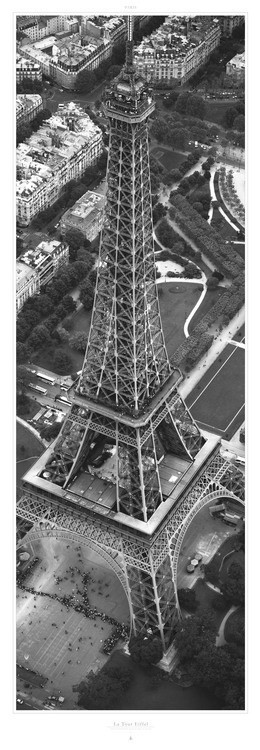 La Tour Eiffel Reproduction d'art