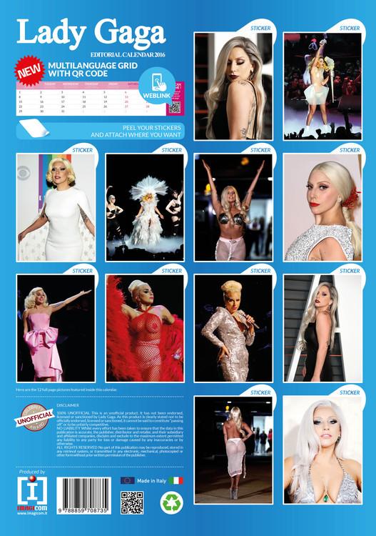 Lady Gaga   Wall Calendars   Large selection