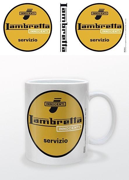 Mug Lambretta - Servizio