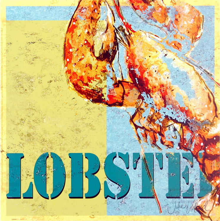 Lobster Reproduction d'art
