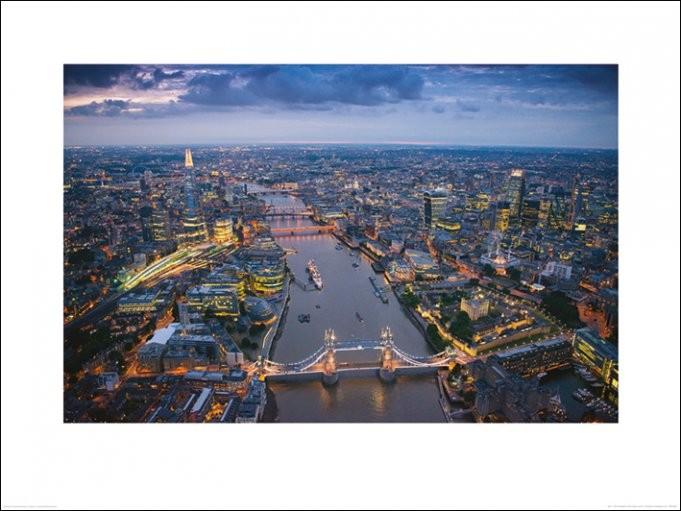 London - Jason Hawkes Reproduction d'art