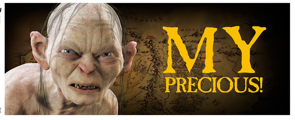 Cup Lord of the Rings - Gollum