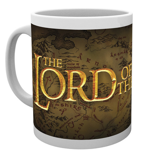 Mug Lord of the Rings - Logo
