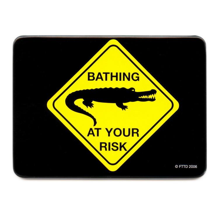 AT YOUR RISK - bathing Magnet