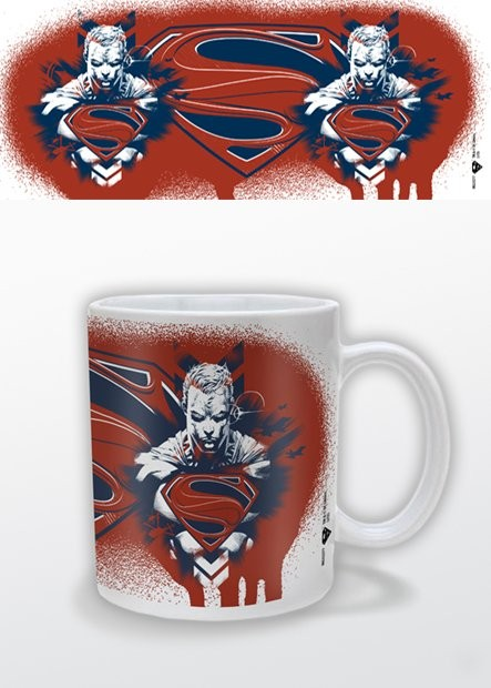 Caneca Man of Steel - Red White Blue