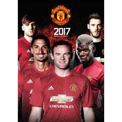 Manchester Utd   Wall Calendars | Large selection