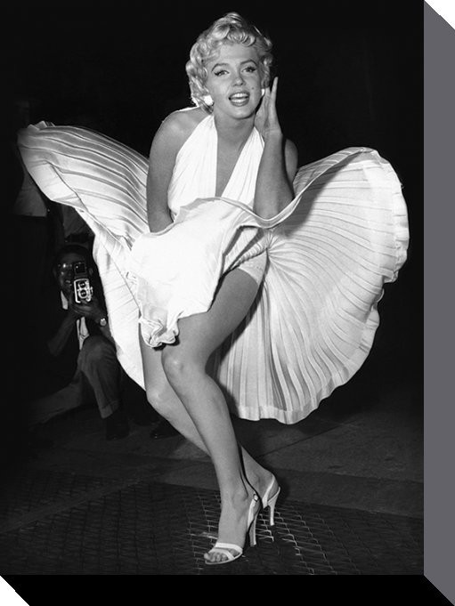 Marilyn Monroe - Seven Year Itch - Canvas Print