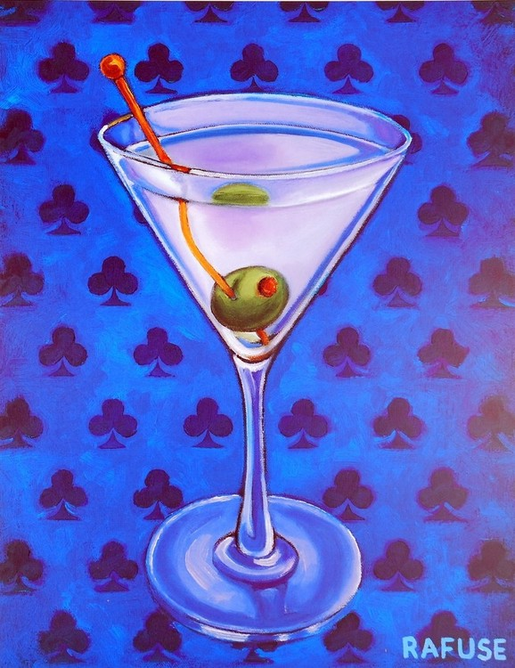 Martini Royale - Clubs Reproduction d'art