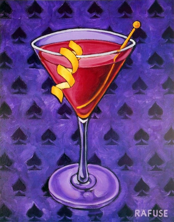 Martini Royale - Spades Reproduction d'art