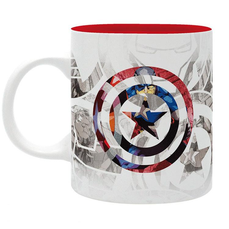 Cup Marvel - Captain America Design