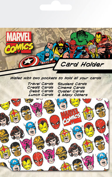 MARVEL - faces Porte-Cartes