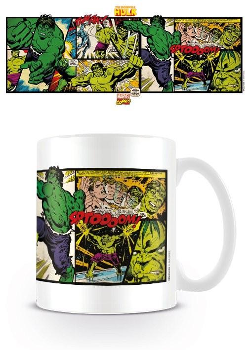 Mug Marvel Retro - Hulk Panels