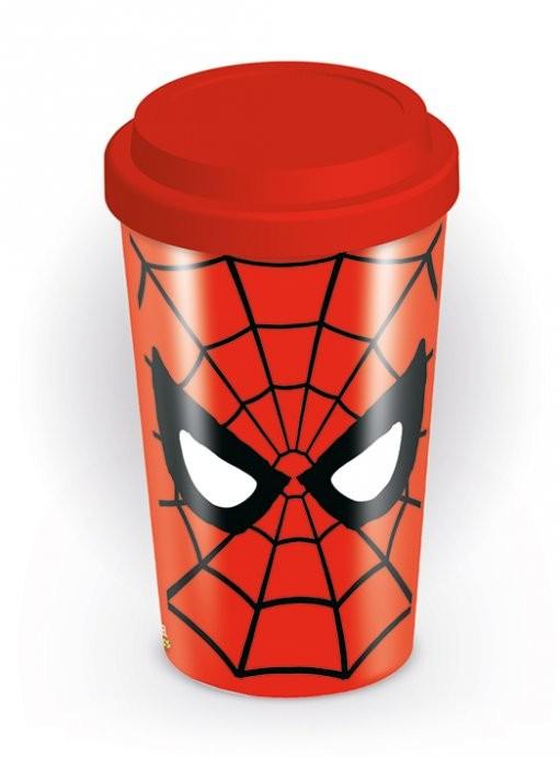 Travel Mug Marvel retro - Spider-Man Eyes