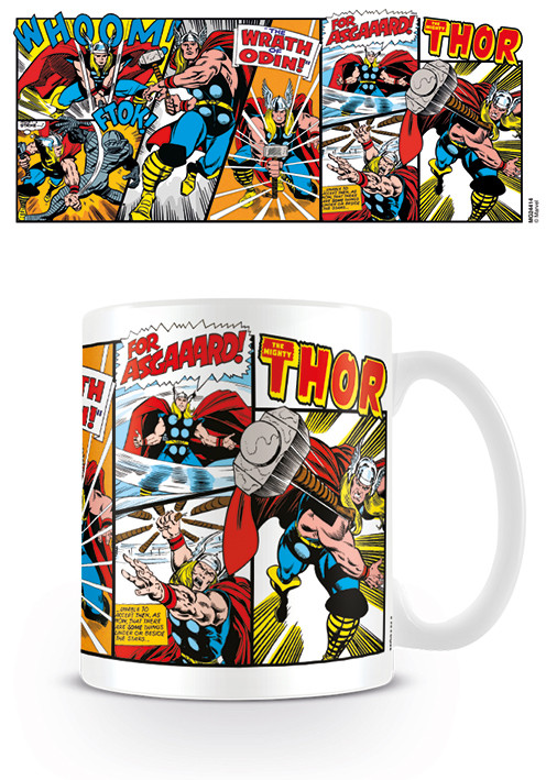 Cup Marvel Retro - Thor Panels