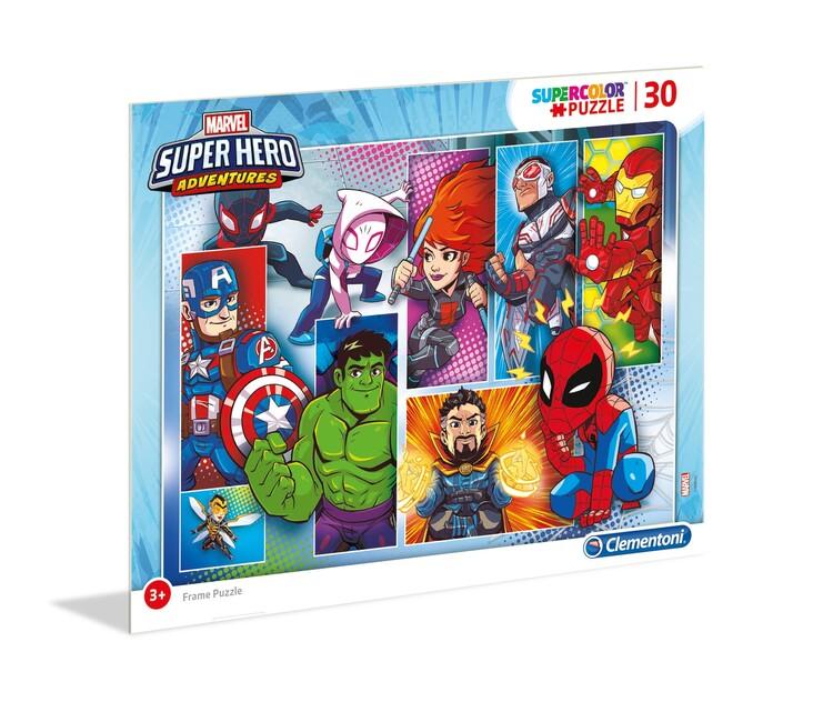Puzzle Marvel - Super Hero - Frame 4in1