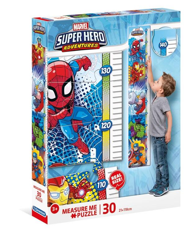 Puzzle Marvel - Super Hero - Measure me