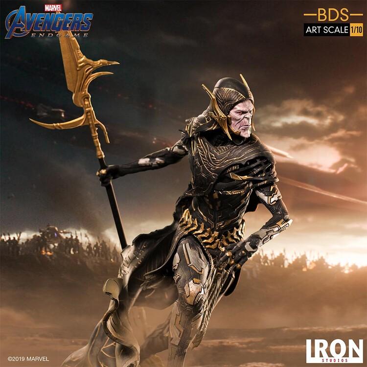 Figurine Avengers: Endgame - Black Order Corvus Glaive