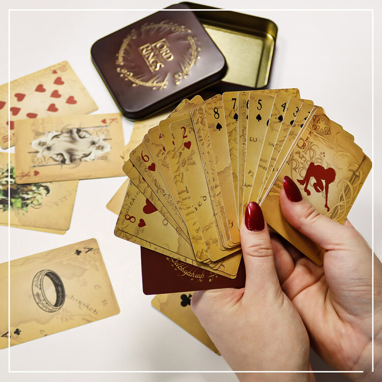 Jogando cartas - The Lord of the Rings