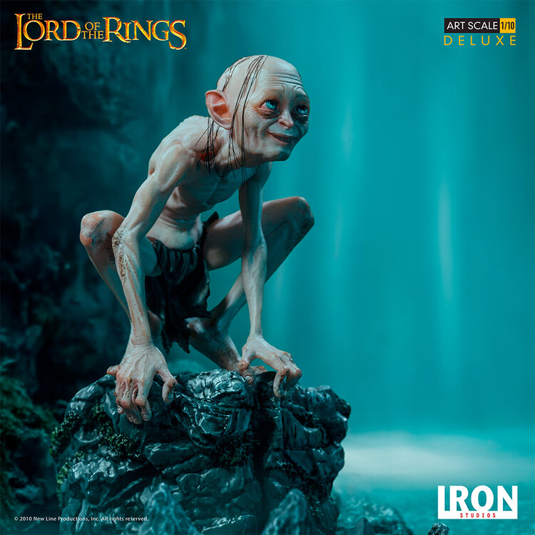 Figuras Lord of The Rings - Gollum (Deluxe)
