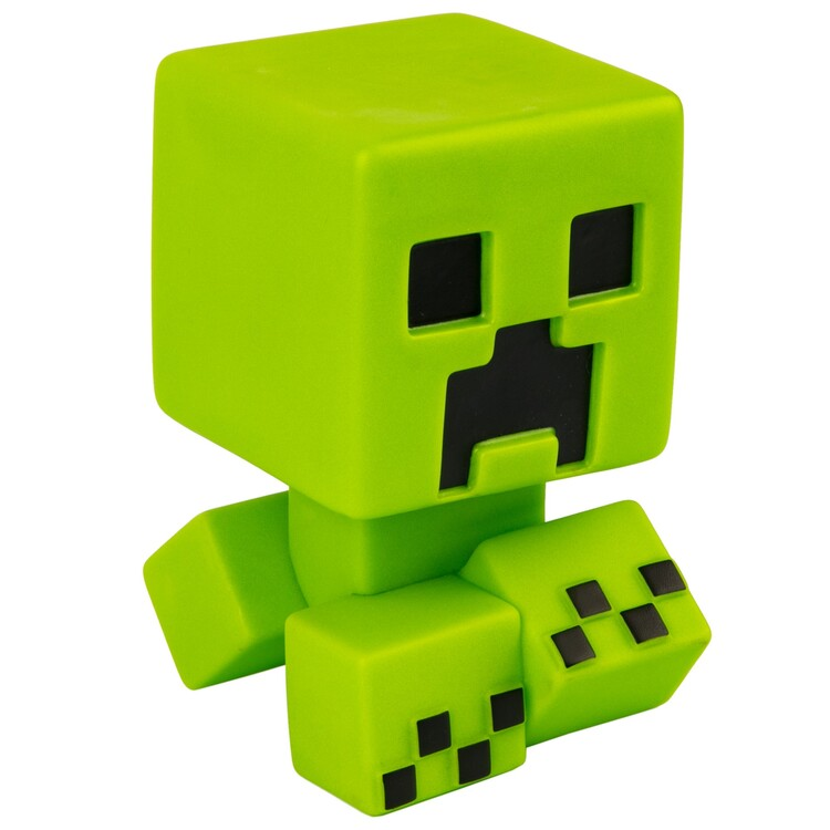 Figurine Minecraft - Creeper Mega Bobble Mobs (Green Glow in the dark)