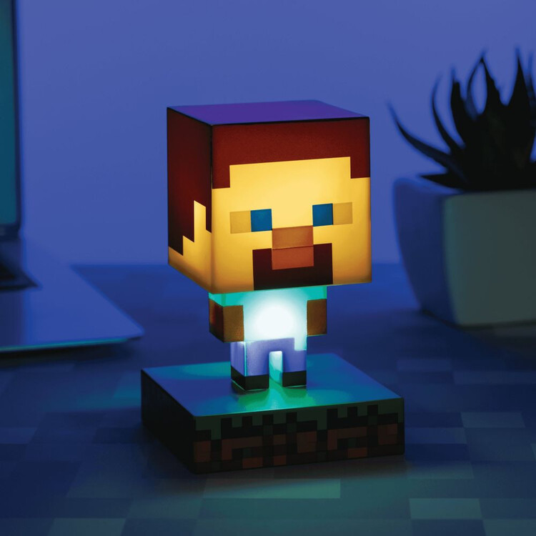 Glowing figurine Minecraft - Steve