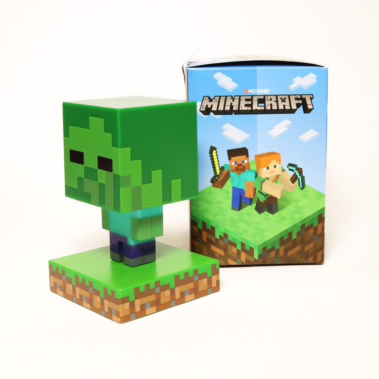 Glowing figurine Minecraft - Zombie