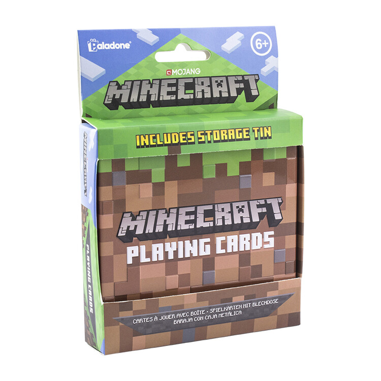 Playing Cards - Minecraft