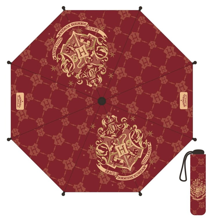 Umbrella - Harry Potter - Hogwarts (Red)