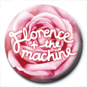 Merkit  FLORENCE & THE MACHINE - rose logo
