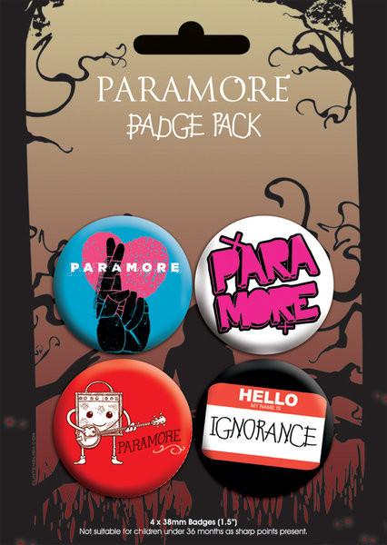 Merkit  PARAMORE - pack 2
