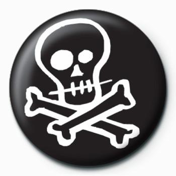 Merkit  Skull & Crossbones (B&W)