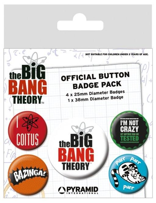 The Big Bang Theory - Logo Merkit, Letut