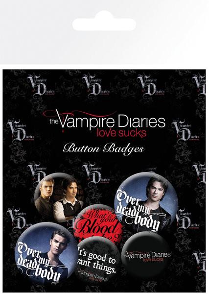 Merkit  Vampyyripäiväkirjat - Stefan & Damon