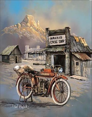 Metal sign BLAYLOCK - apache high speed