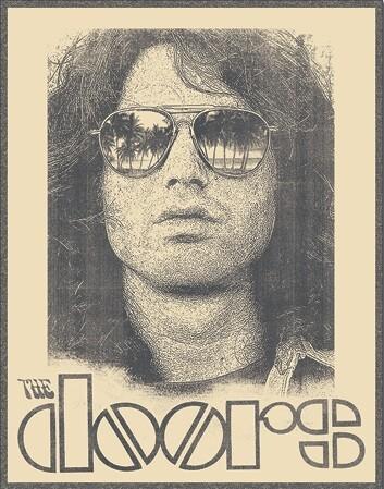 Metal sign Doors - Morrison Shades