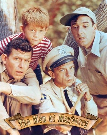 Metal sign Griffith - Men of Mayberry