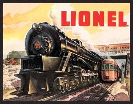 Metal sign Lionel 5200
