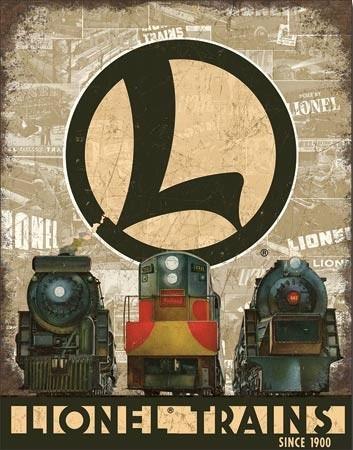 Metal sign Lionel Legacy
