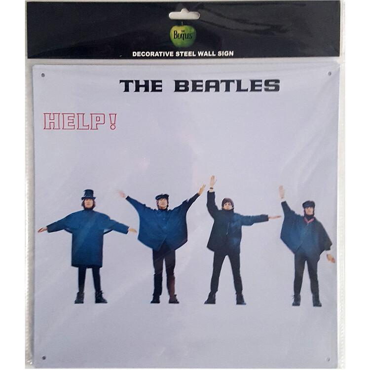 Metal sign The Beatles - Help!