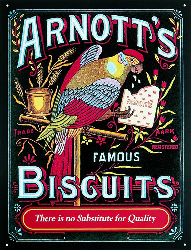 ARNOTT'S Metal Sign