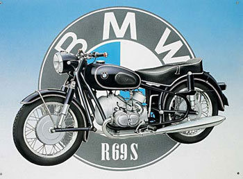 BMW Metal Sign