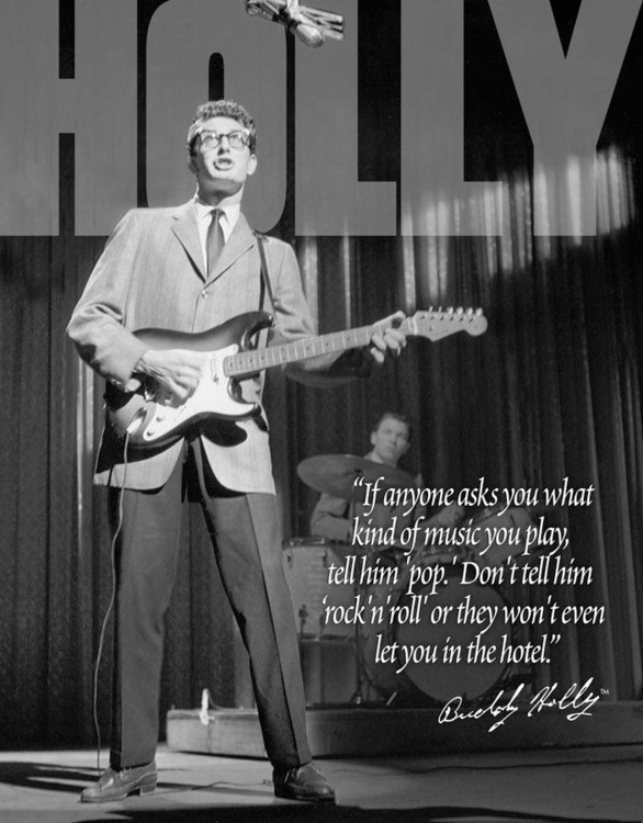 BUDDY HOLLY Metal Sign