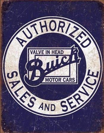 Buick - Valve in Head Metal Sign