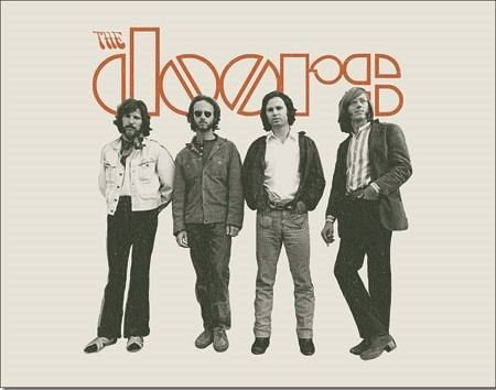 DOORS - The Band Metal Sign