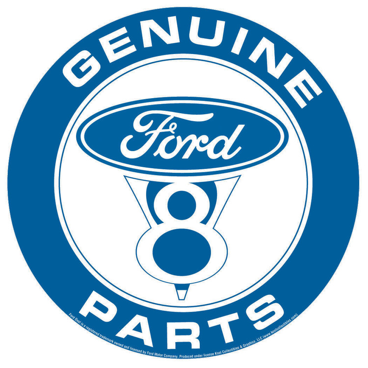 FORD PARTS Metal Sign
