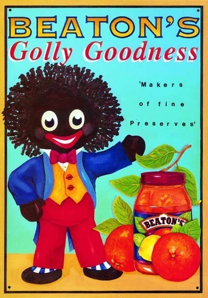 GOLLY GOODNESS Metal Sign