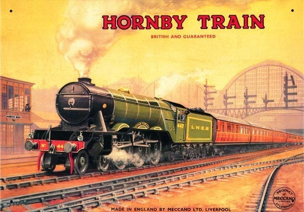 HORNBY FLYING SCOTSMAN Metal Sign